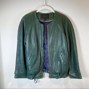 J.Crew Collection leather jacket